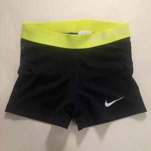 Nike Pro Womens Small Dri-Fit Compression Shorts